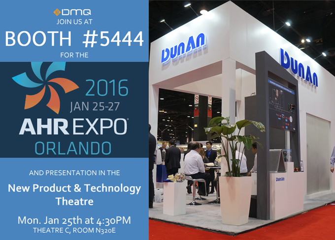AHR EXPO 2016 Invite